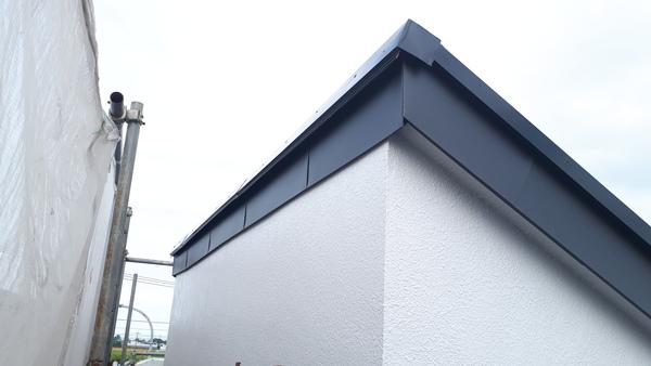 越谷市川柳町 外壁塗装工事 板金工事のサムネイル