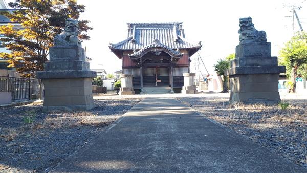 越谷市 川柳町 女體神社